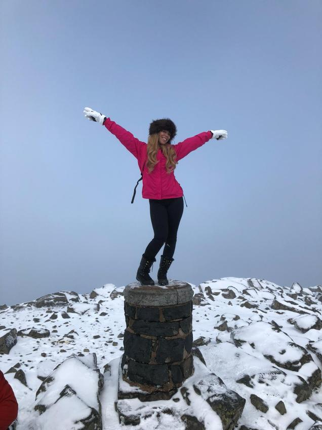 at the top of ben nevis