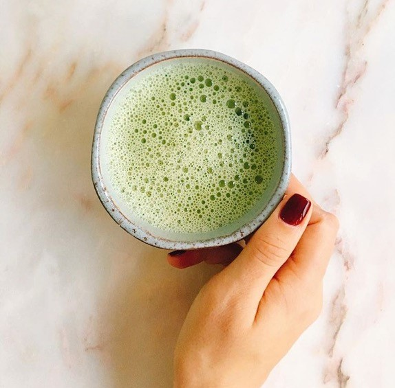 What I use to boost my health - matcha