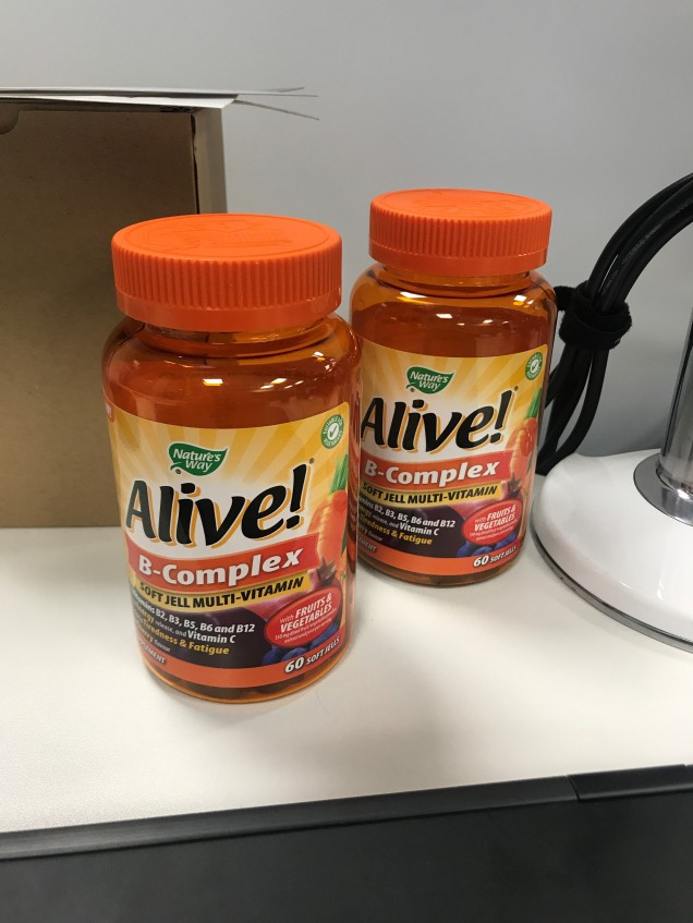 alive vegan b vitamin supplements